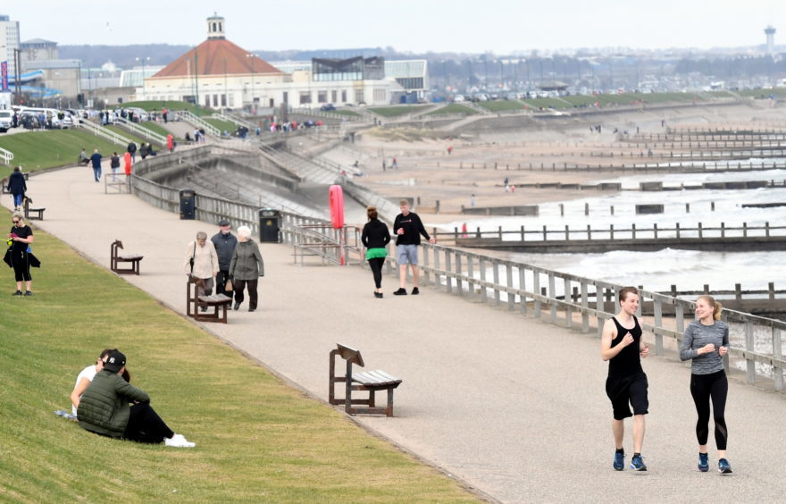 The north-east enjoyed sizzling temperatures. (Picture: Kami Thomson )