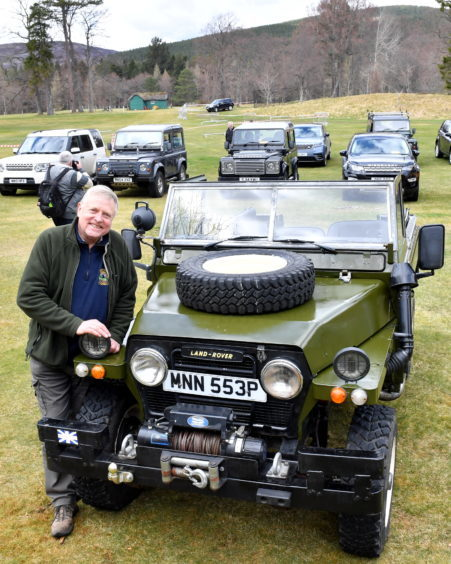 Balmoral Estates in conjunction with the Grapmian Transport Meseum held a Land Rover Gathering in the grounds of the castle.
