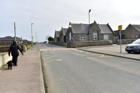 St Fergus Primary School where it is planned to extend the no waiting zone during school hours.