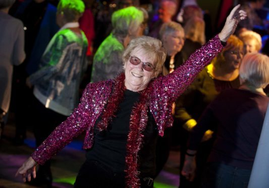 Dancing Dot Bremner shows no sign of stopping.