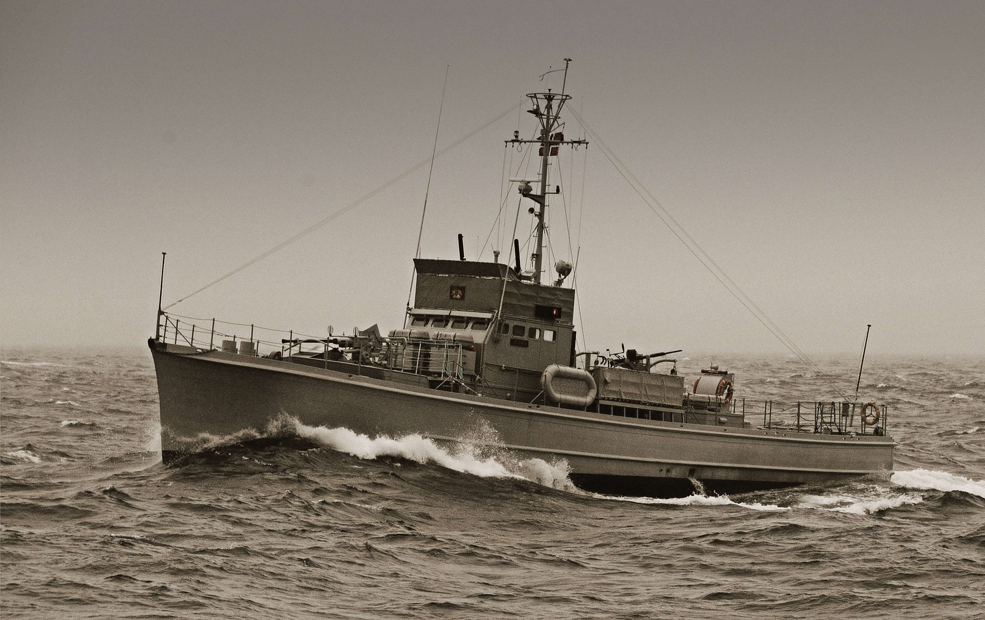 The sub-schase Hitra is one of the historic vessels which will be travelling from Norway to Scalloway in Shetland.