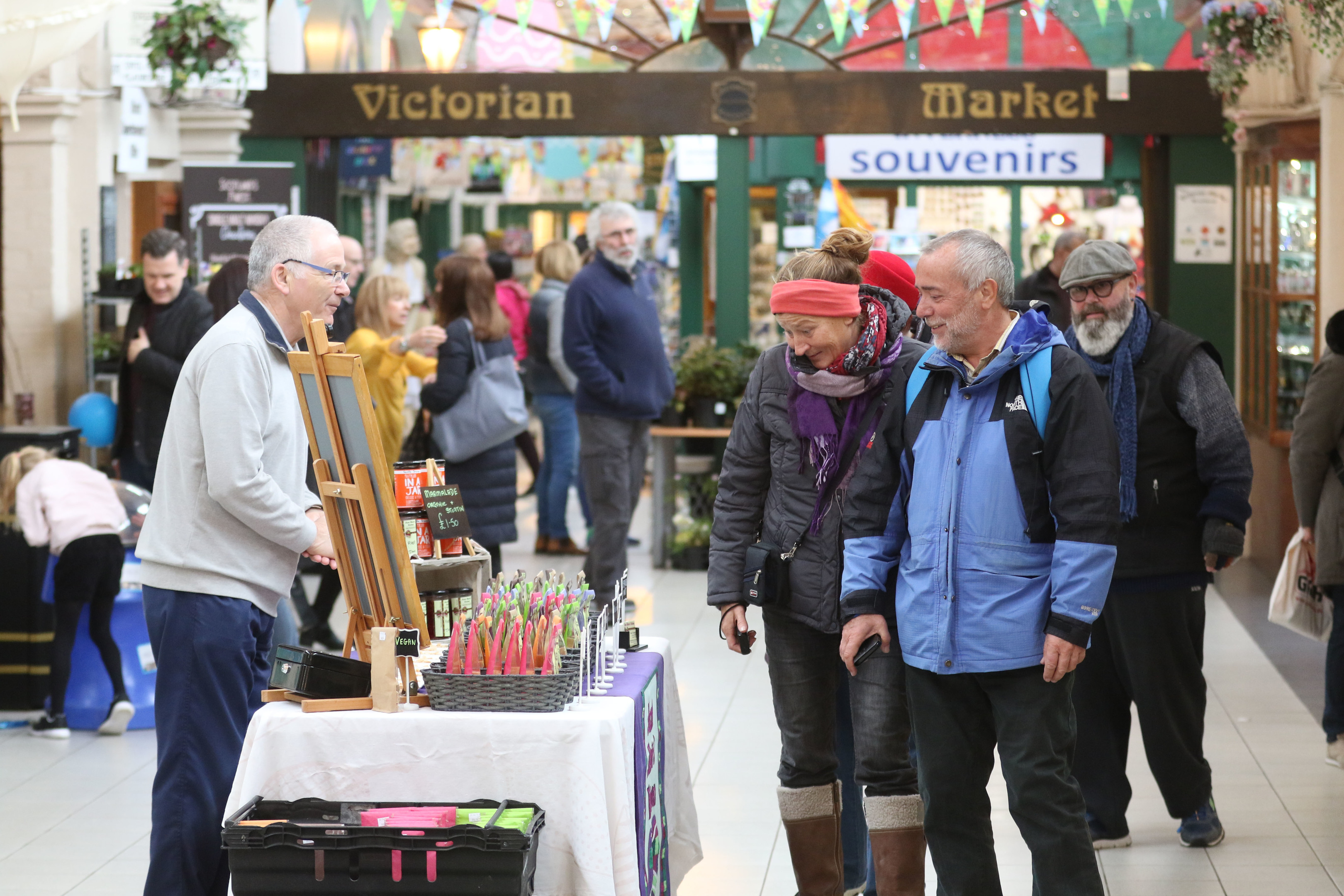 The Victorian Market in Inverness will be opening at the weekend again over summer.