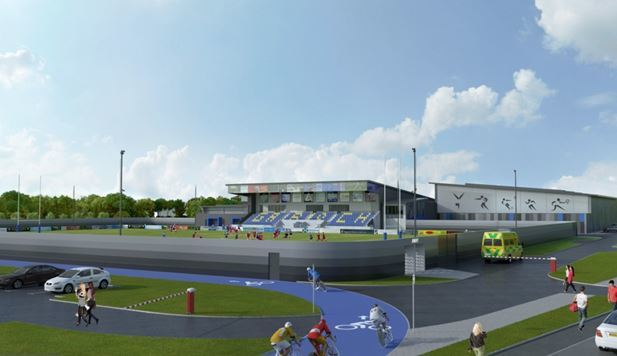 An impression of the proposed Garioch Sports Centre expansion