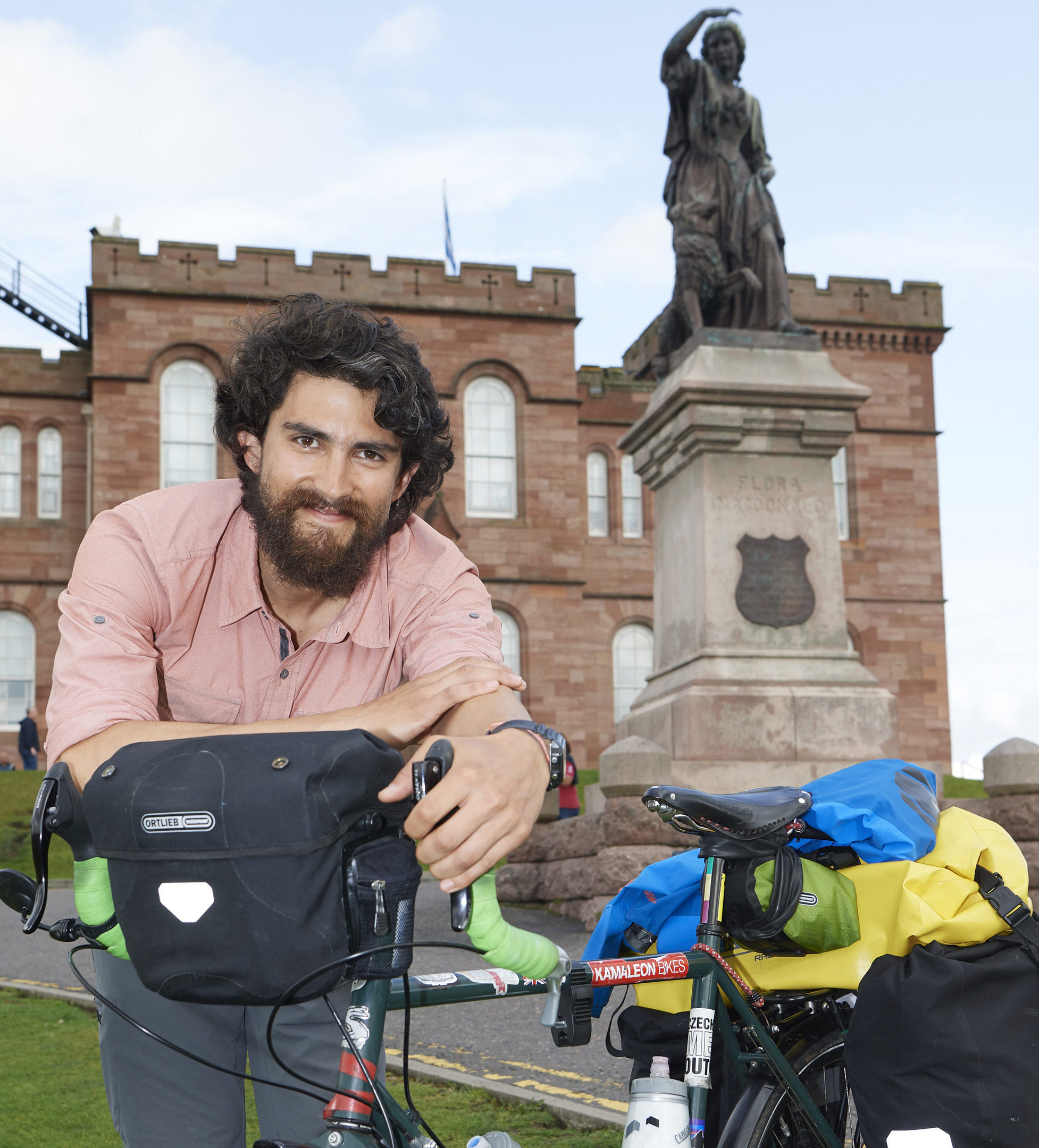 Chilean cyclist Rodrigo Salvatierra Arrano has previously issued a plea for people not to drop litter on the NC500 in the Highlands.