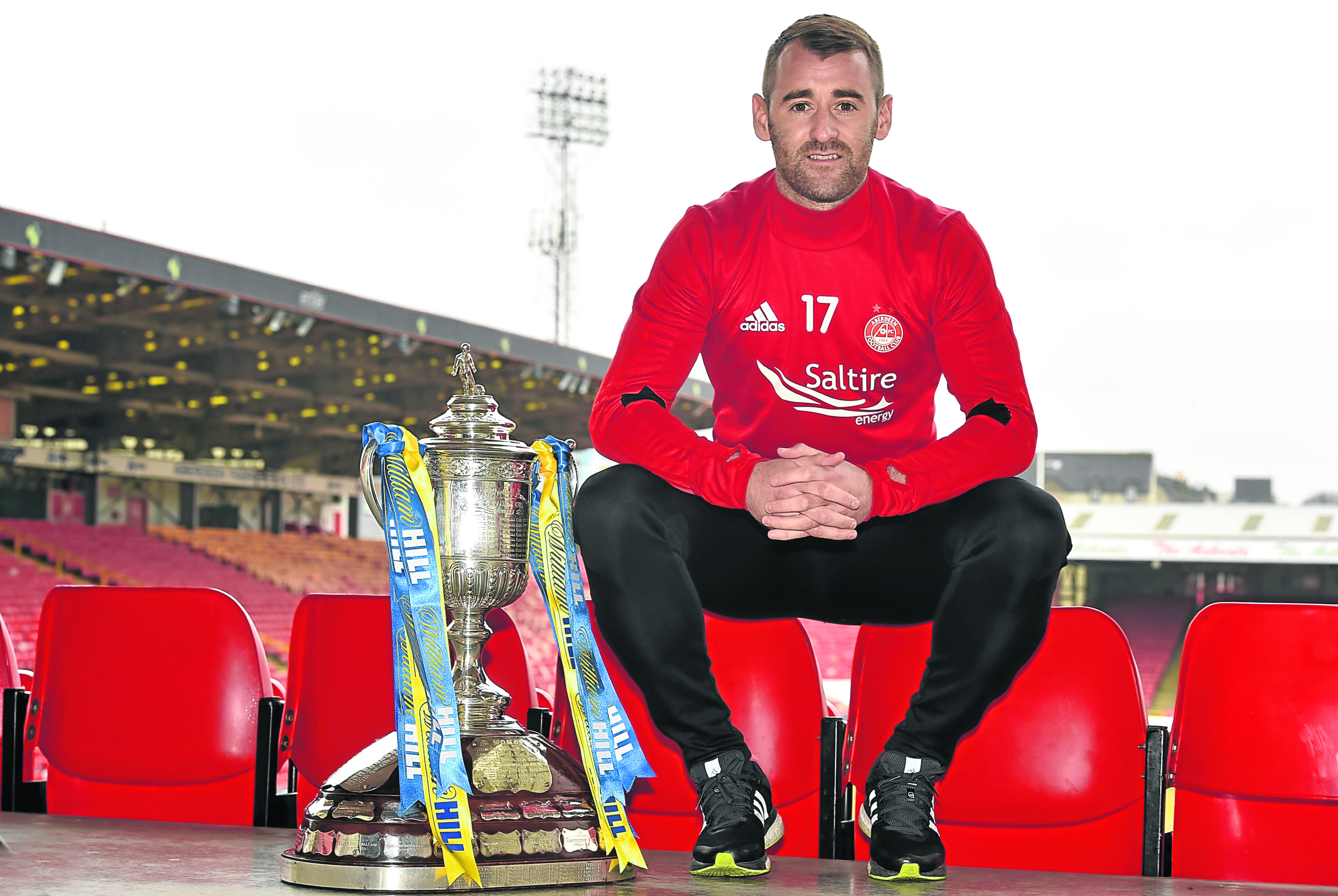 William Hill Scottish Cup match against Motherwell on Saturday. Player Niall Mcginn.