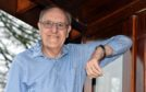 Brave model Jim Lyon at his home in Elrick