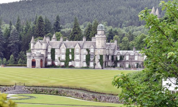 Balmoral Castle. Picture by COLIN RENNIE