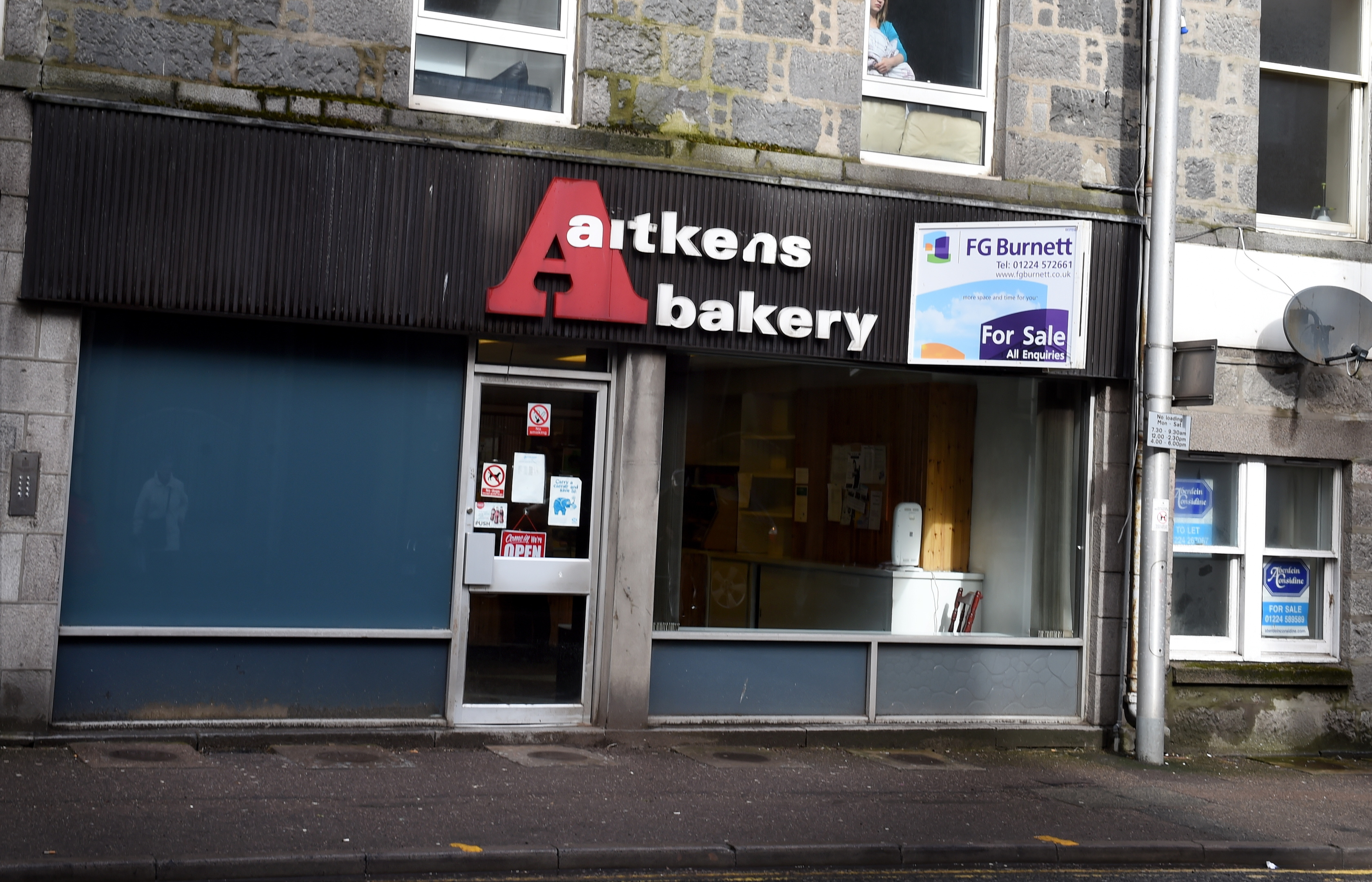 Aitken Bakery, Menzies Road, Aberdeen.