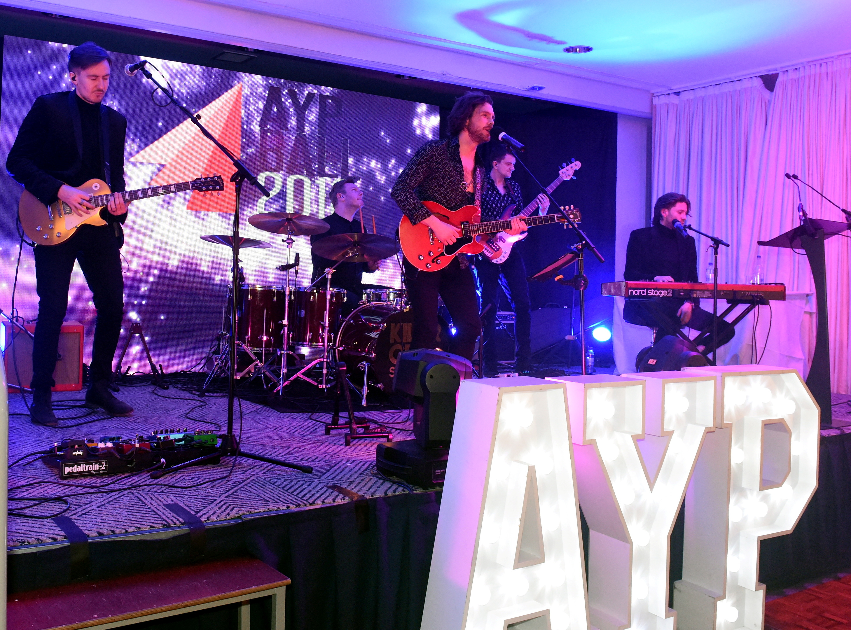 The Killer City sound at the AYP. Picture by Jim Irvine.
