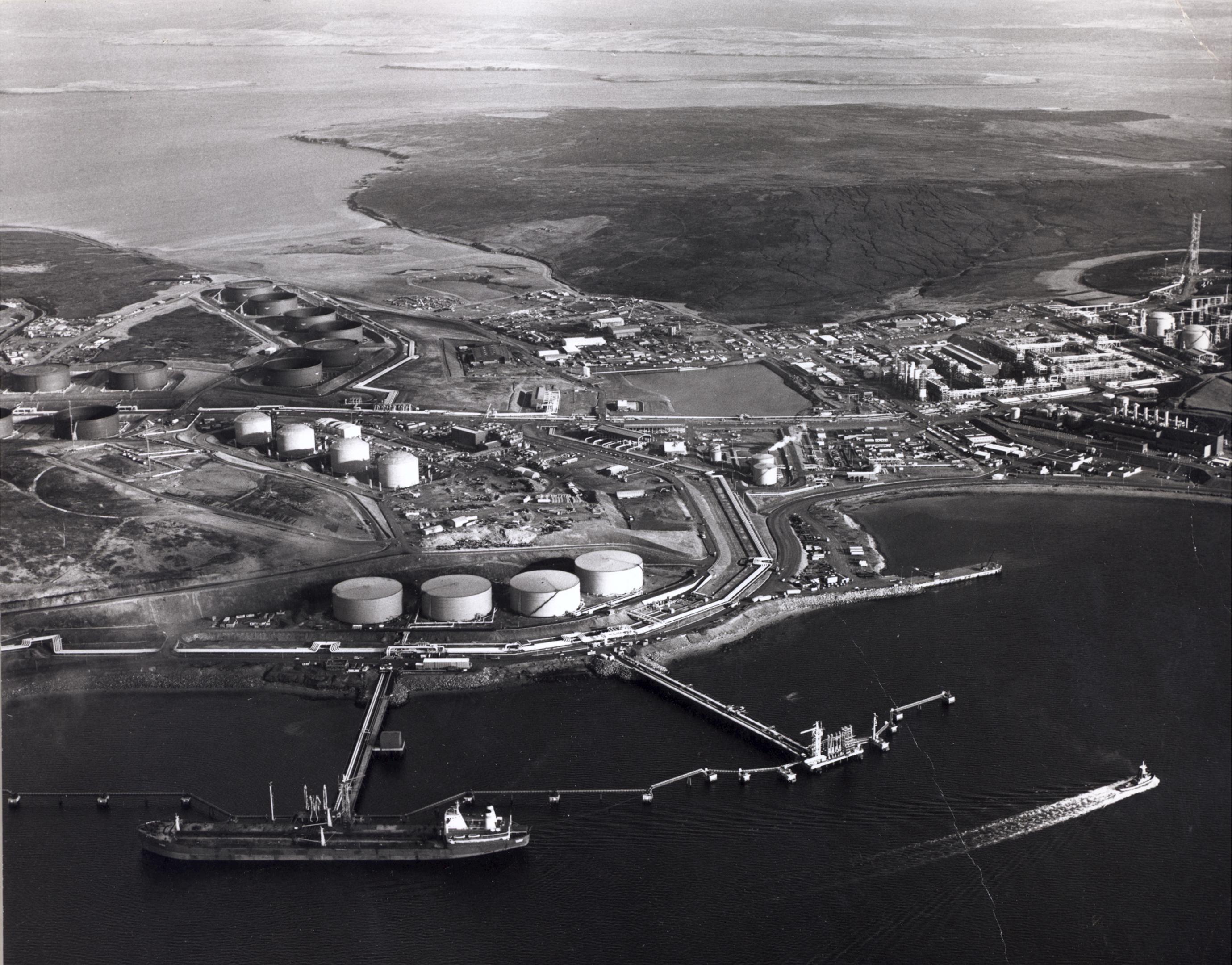 Sullom Voe oil terminal