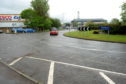 Inshes roundabout in Inverness