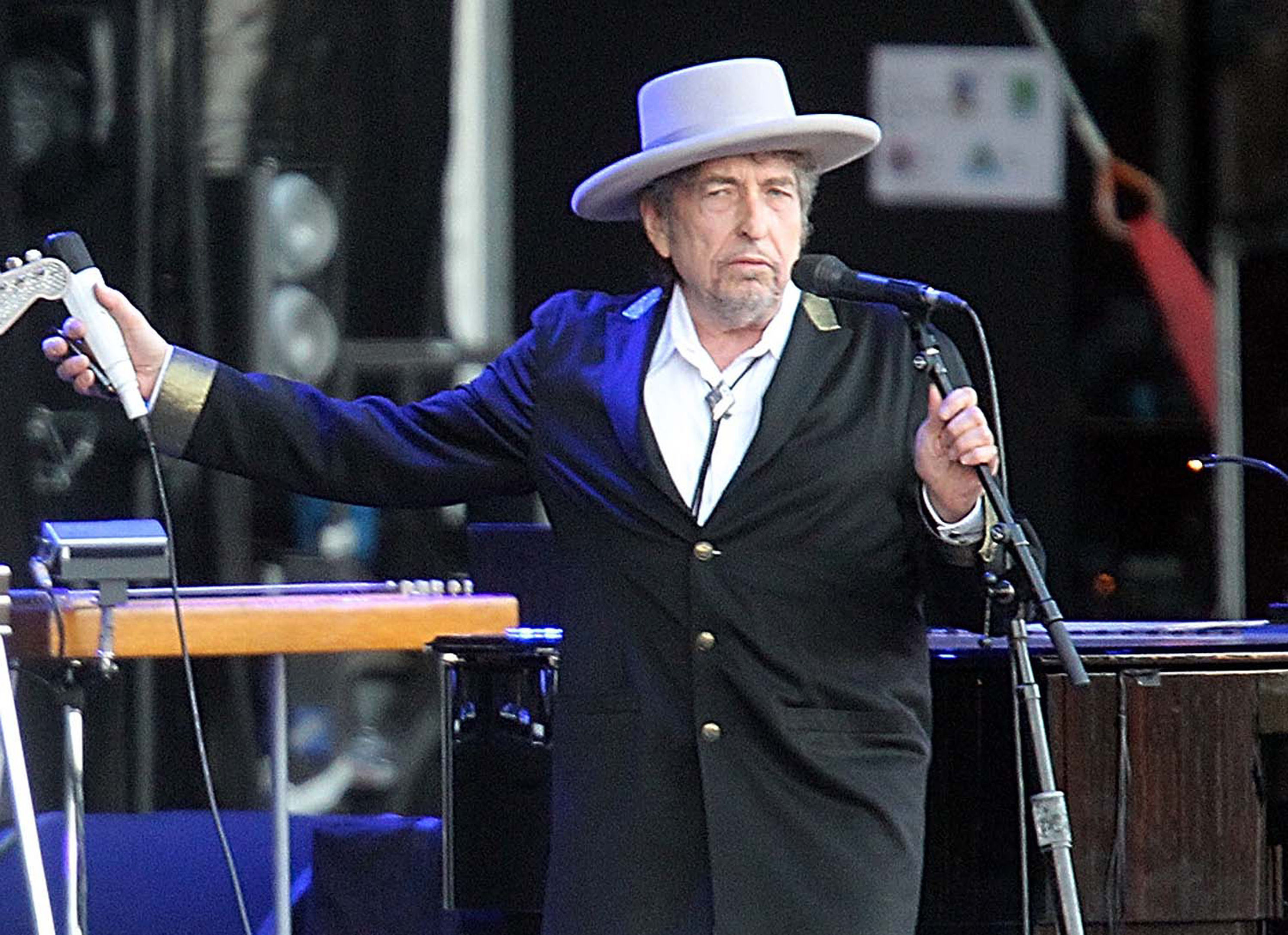 Bob Dylan released his latest album in June.