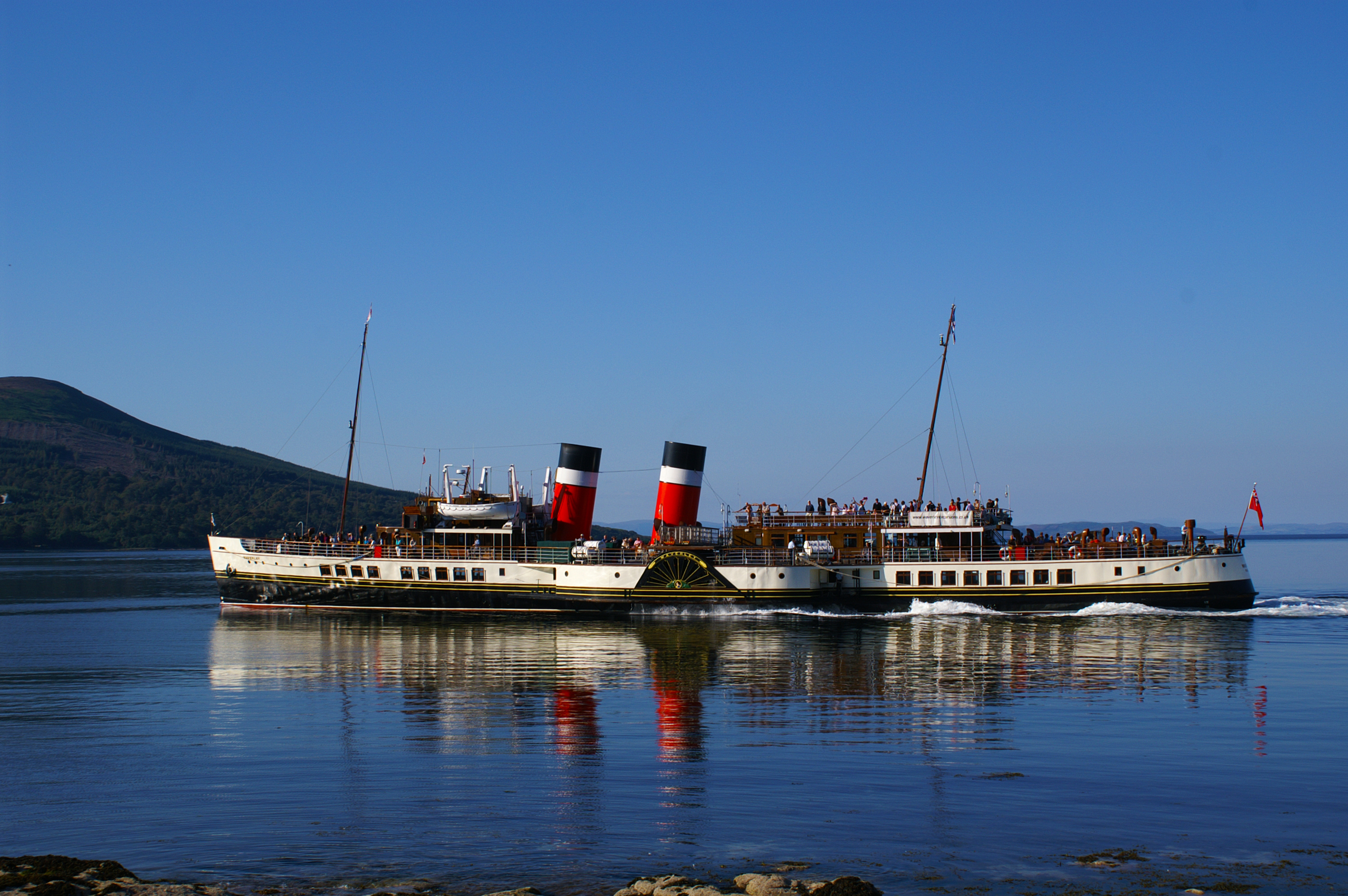 The Waverley is set to visit the Western Isles towards the end of the month