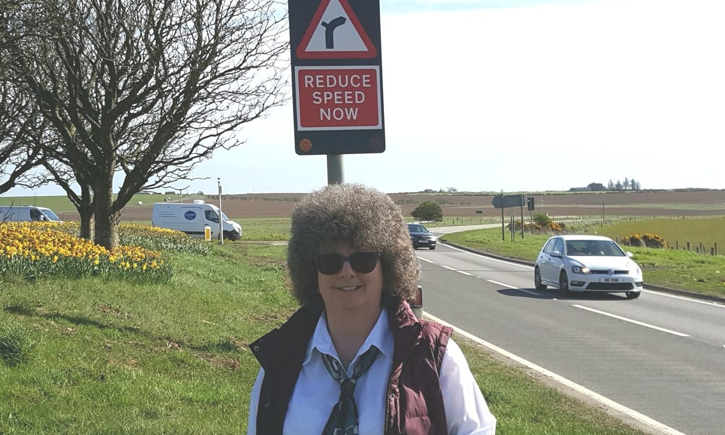 Councillor Gillian Owen has long called for improvements on the A90 and hopes they will happen soon.