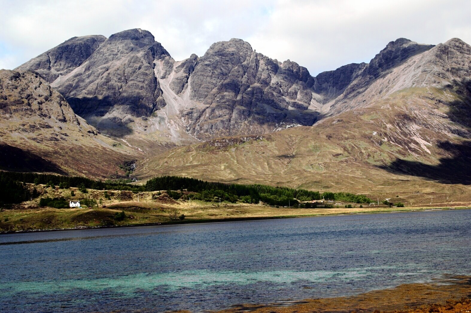 Loch Scavaig in the south west of the island.