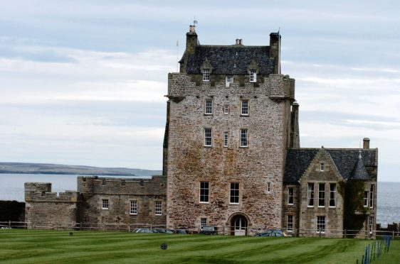 Ackergill Tower, near Wick has had its asking price dropped. Picture by Sandy McCook