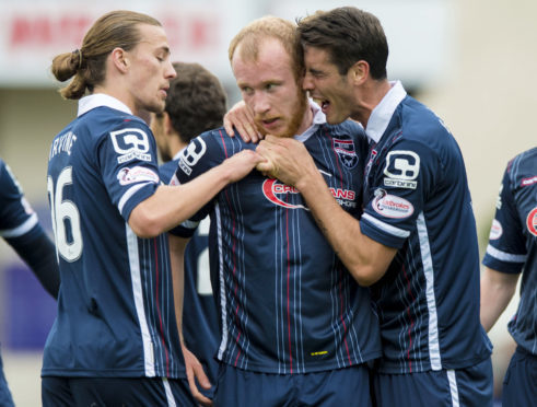 Jackson Irvine and Liam Boyce both played for Burton Albion after leaving Ross County.