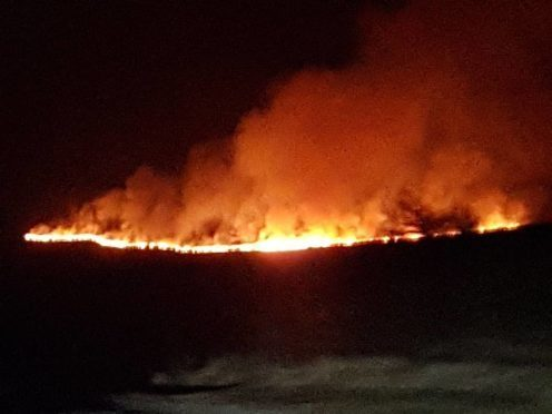 Wildfires have broken out across the region in recent weeks.