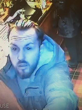 Whisky thief captured on CCTV at the Whisky Castle in Tomintoul