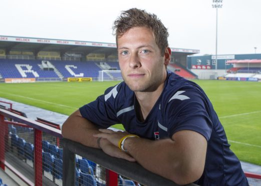 Paul Lawson during his time with Ross County