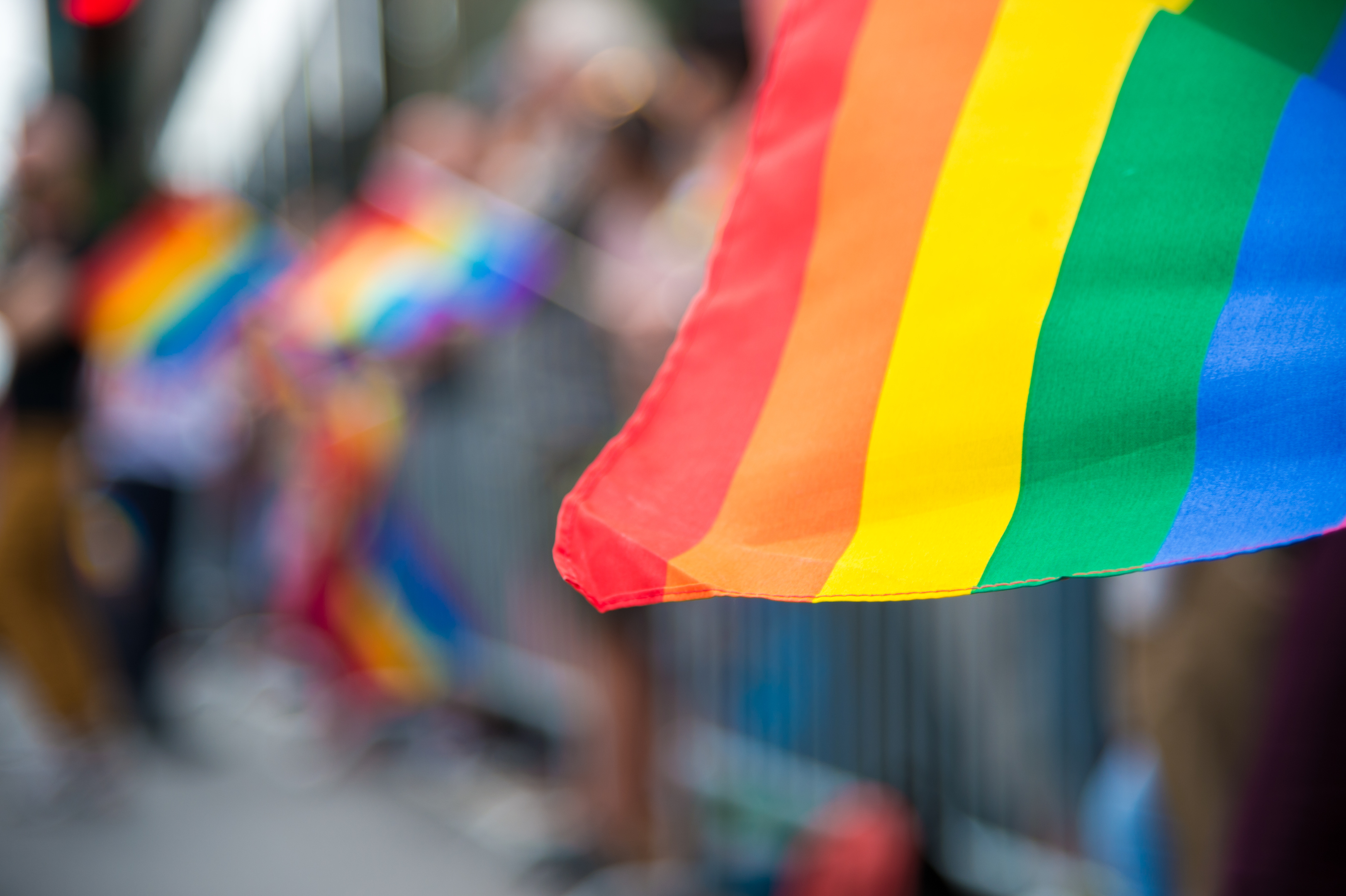 The LGBT rainbow flag contradicts the council's flag policy