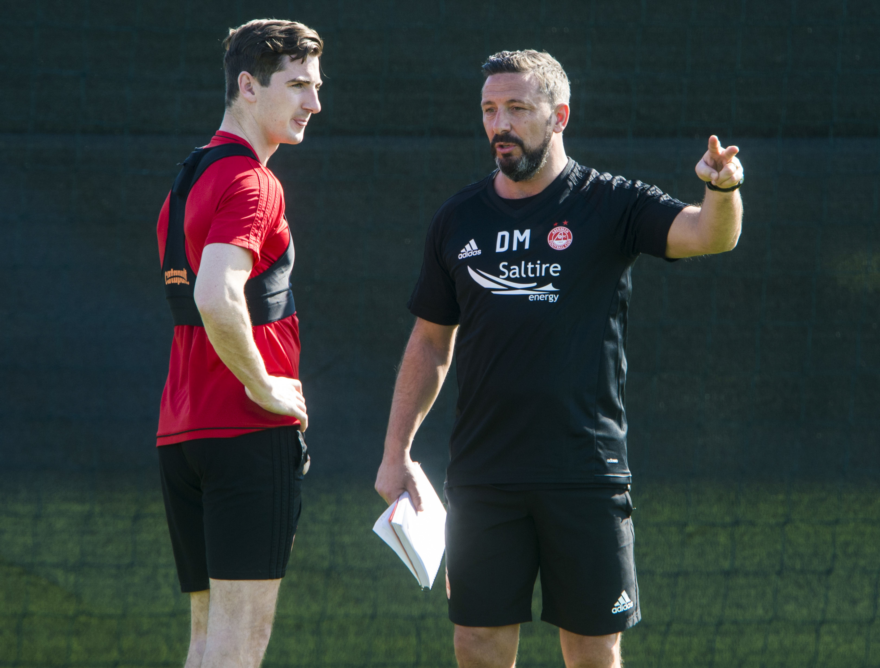 Kenny McLean believes the Dons are in safe hands with Derek McInnes.