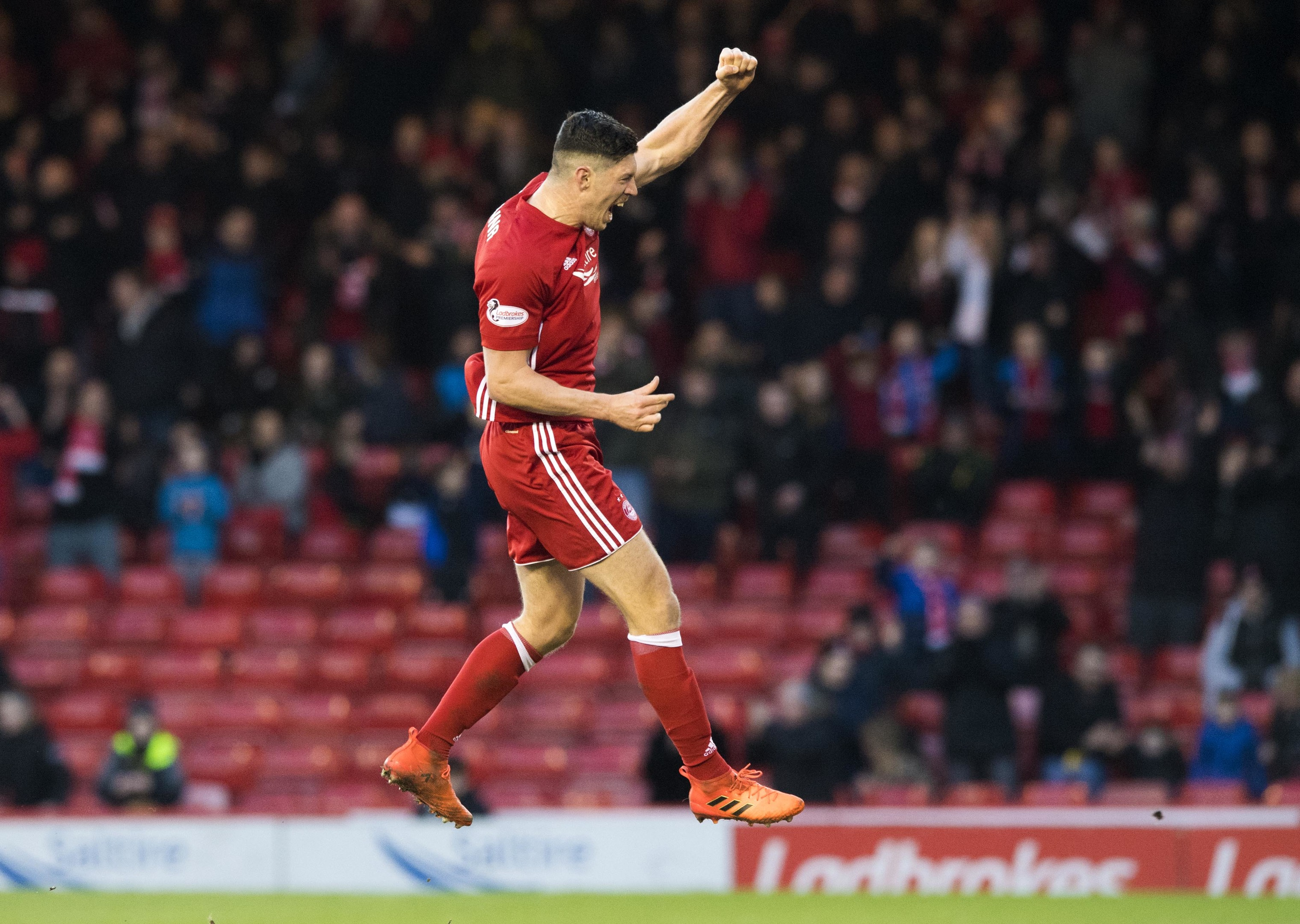 Scott McKenna has been the subject of an approach by Swansea City.