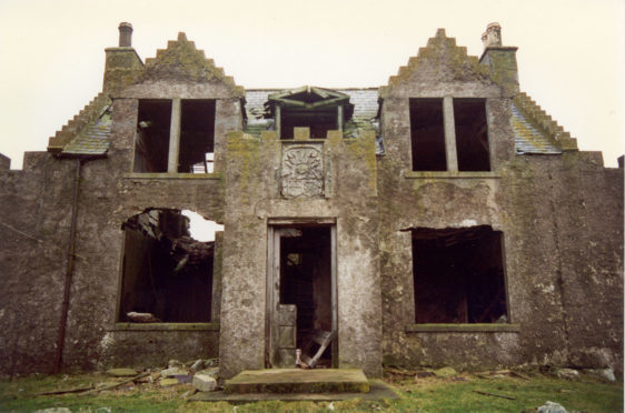 Windhouse as it is known is Shetland's, and possibly Scotland's, most haunted house.
