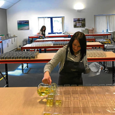 Essence of Harris, which is now in new premises, started as a family business with candle pouring at the kitchen table