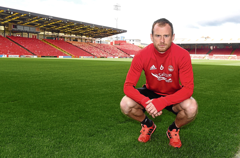Aberdeen defender Mark Reynolds.