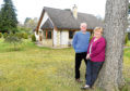 David & Anne Watson outside their home