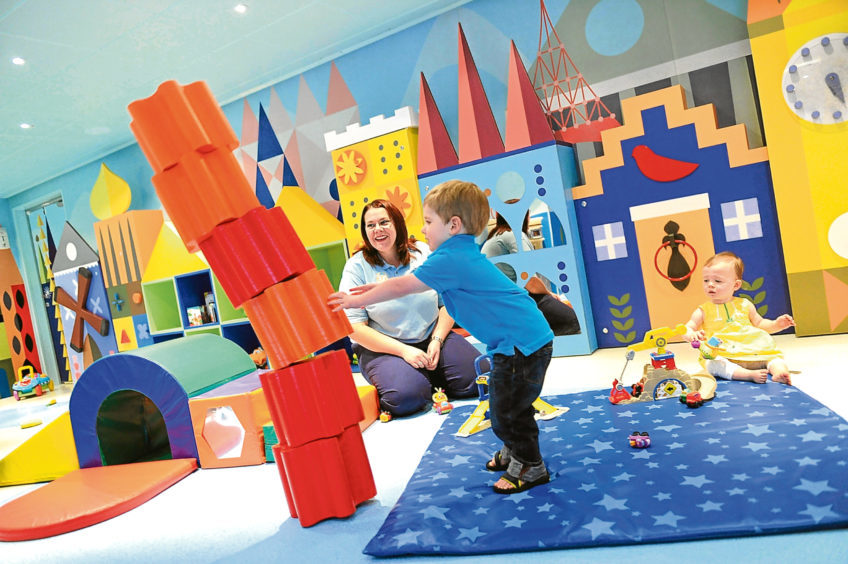 It's A Small World Nursery on board the Disney Dream