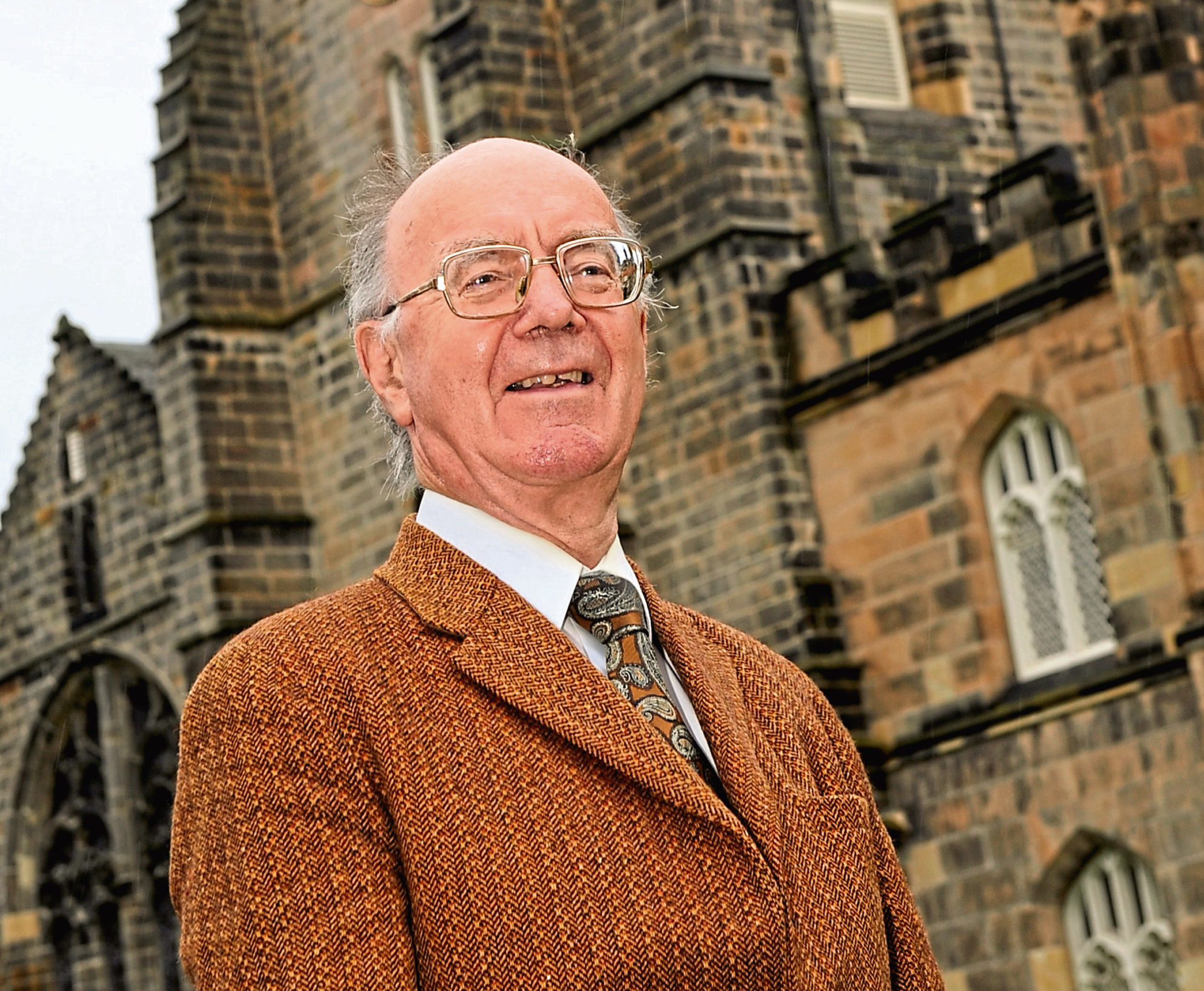 Aberdeen University Prof Alex Kemp's books on the history of the North Sea oil and gas industry will be published on Wednesday.    Picture by KENNY ELRICK       13/09/2011   .