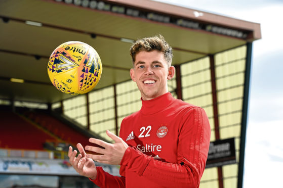 Ryan Christie was a firm favourite during his time at Aberdeen.