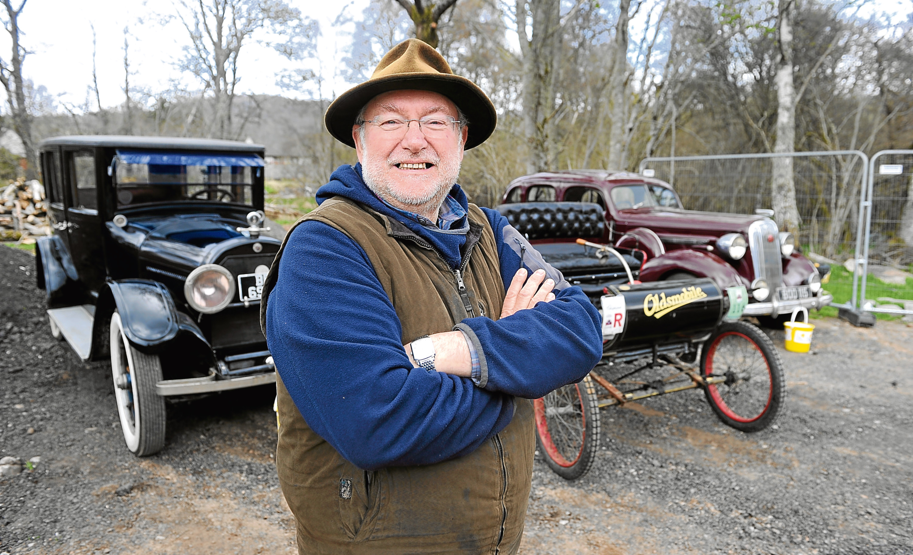Jack Meredith has a large array of cars
