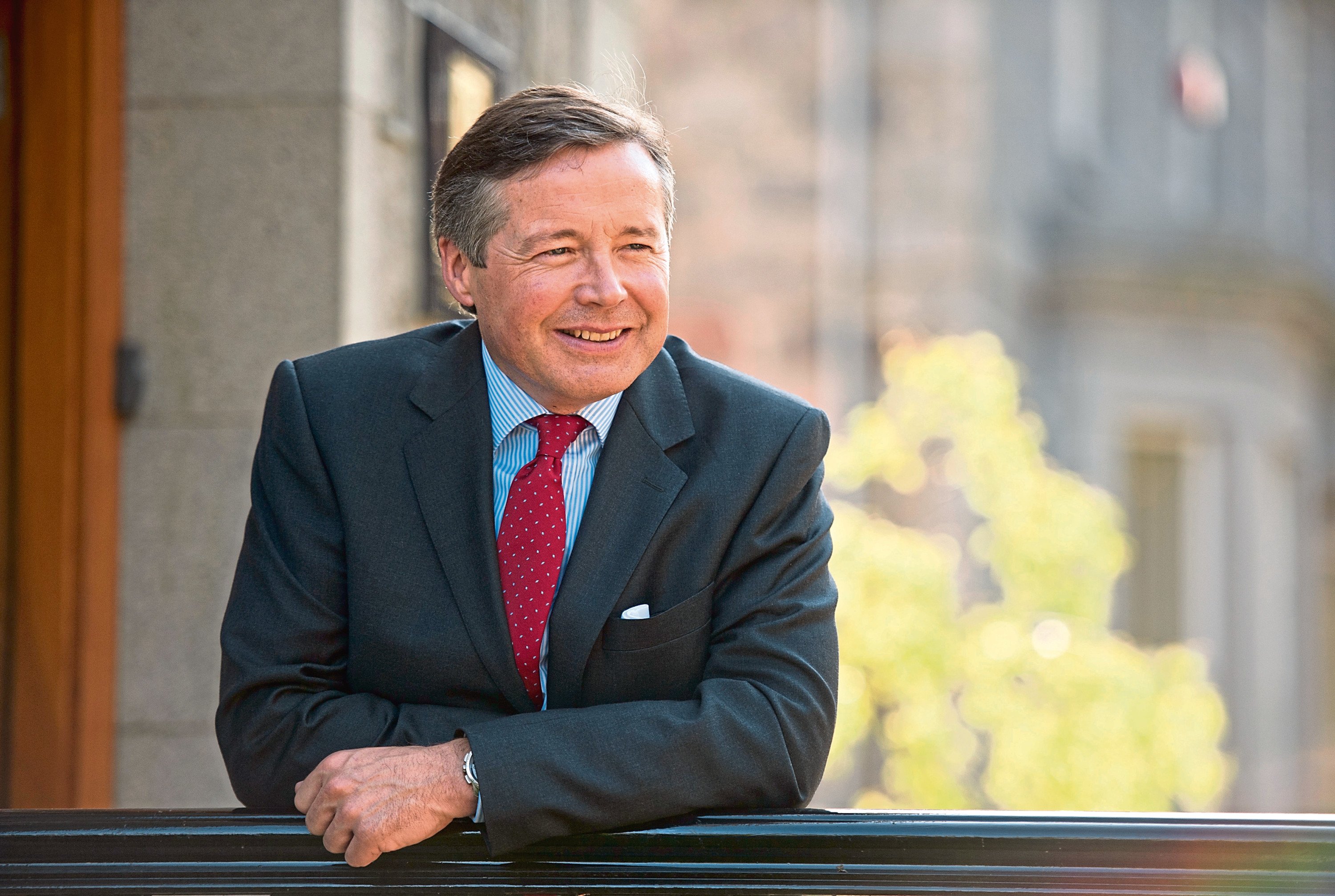 Chief executive of Johnston Carmichael, Sandy Manson, has taken the helm of  the chartered accountants' professional body