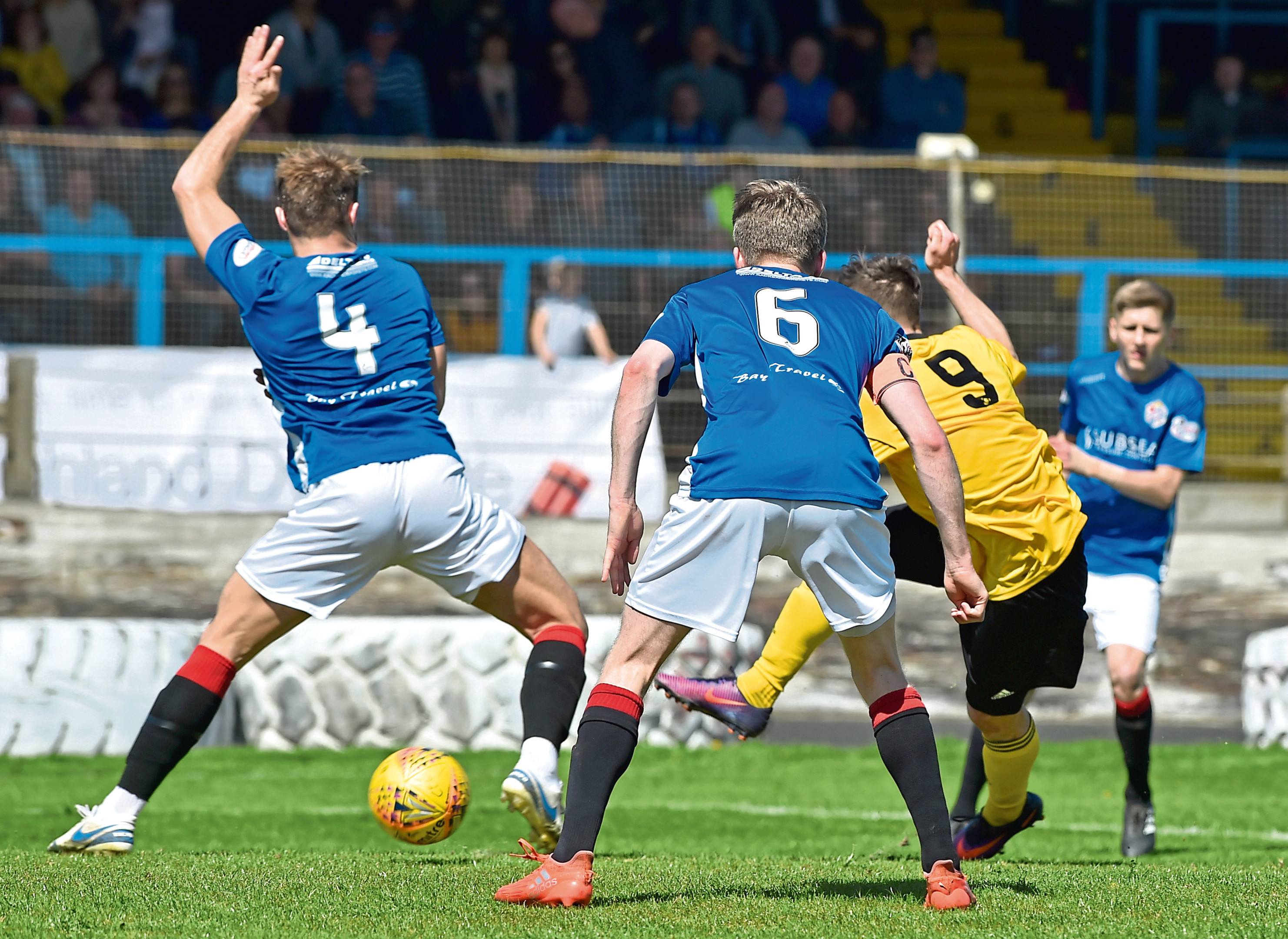 Cove Rangers lost 1-0 on their return to Central Park.