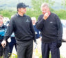 30/06/08 THE CARRICK GOLF CLUB - LOCH LOMAND Sir Alex Ferguson (right) teams up with Paul Lawrie (left) to play in the Great Scots Cup