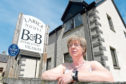 Amanda Frazer of the FSB and a Newtonmore B&B owner who is against the proposes 'Tourist Tax'.