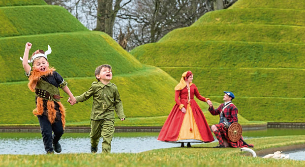 Children and adults can get dressed for entertaining insights into Scottish history