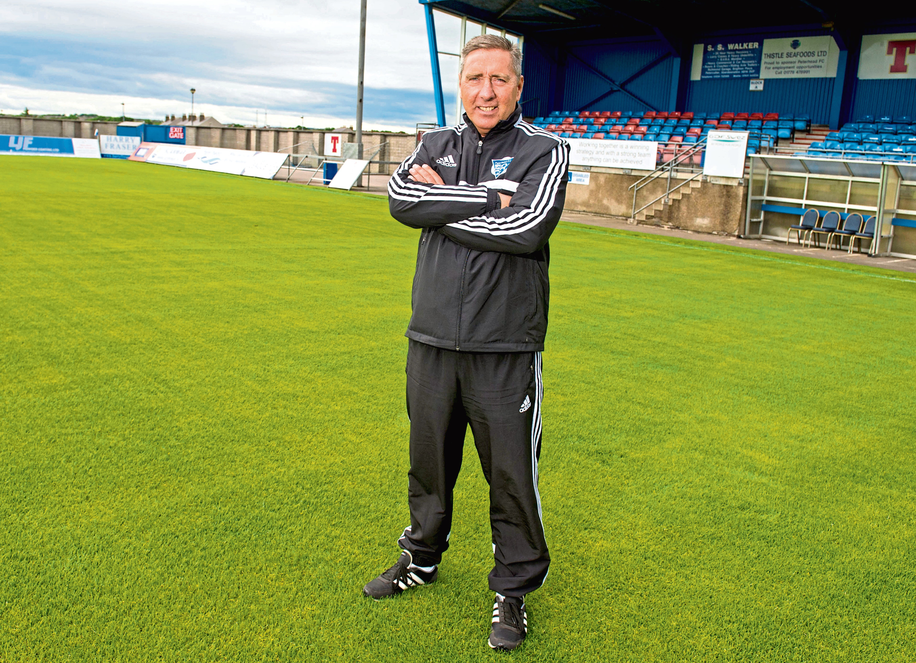 McInally has been with the Blue Toon since October 2011.