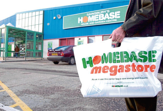 Homebase has branches in the north and north-east and it is not clear if there will be closures