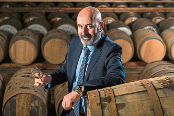 Ewen Mackintosh, Managing Director, Speymalt Whisky Distributors.