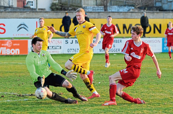 The Highland League has been in cold storage since January 11.