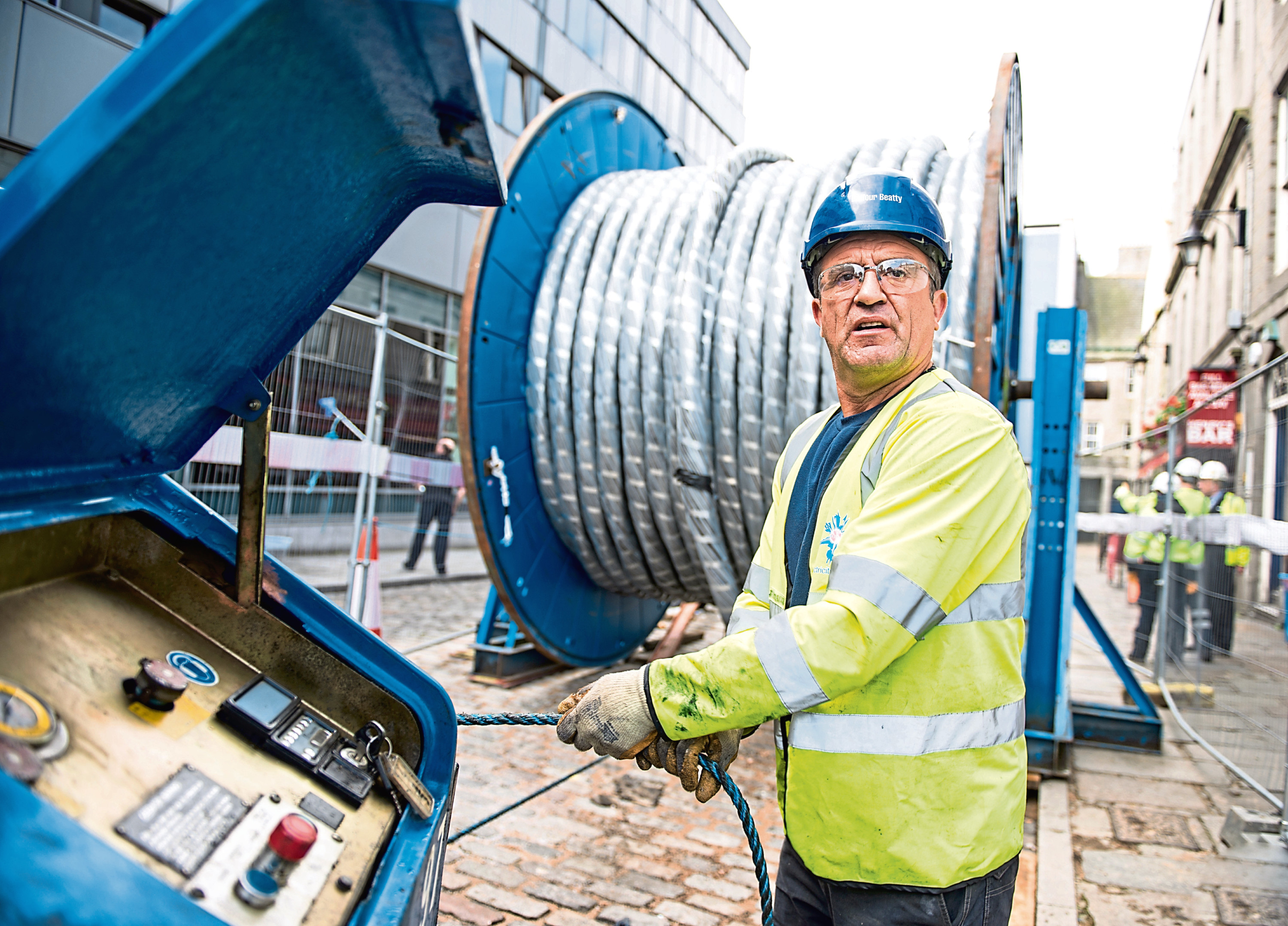 City Cable Aberdeen project