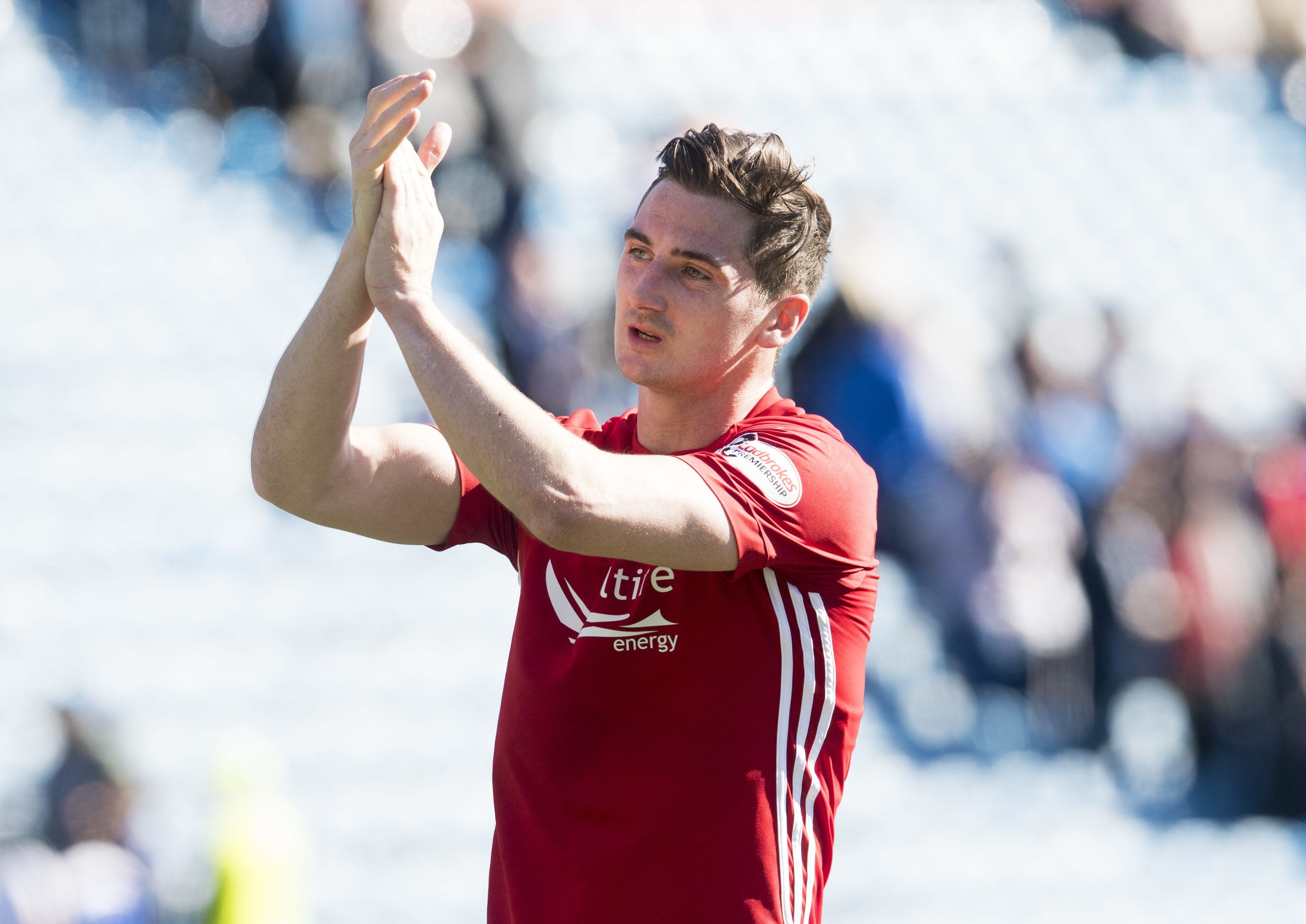 Kenny McLean scored in his final game at Pittodrie.