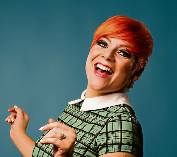 Victoria Jones has the lead role as Cilla Black