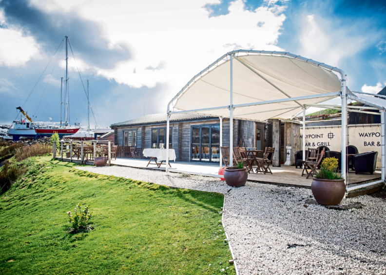 The Waypoint Bar and Grill on Kerrera