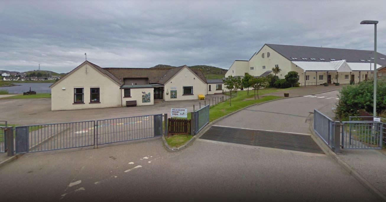 Kinlochbervie Primary in Sutherland.