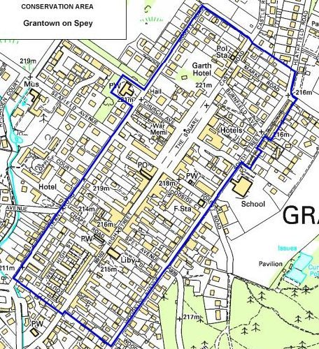 Grantown-on-Spey conservation area.